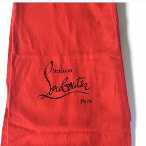 "2.5' X 11.5"" Christian Louboutin Dust Bag"